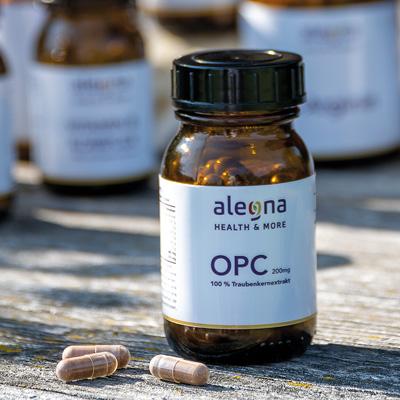 Alegna OPC Traubenkernextrakt zur Nahrungsergänzung