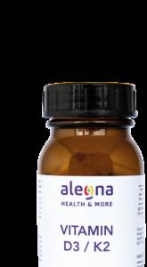 Alegna Vitamin D3/K2 zur Nahrungsergänzung